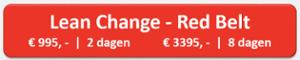 Lean Change - Red Belt
