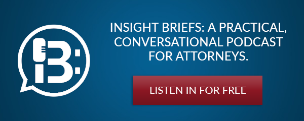 A practical conversational podcast for attorneys