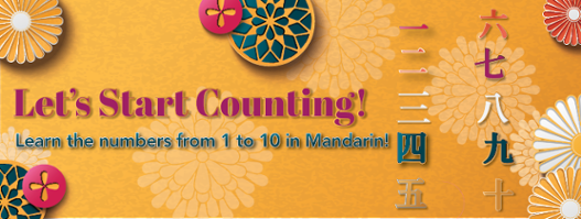 Let's Start Couting! Learn the Numbers from 1 to 10 in Mandarin!