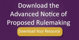 Advanced Notice of Proposed Rulemaking