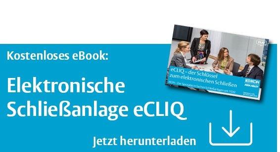 eBook: elektronische Schließanlage eCLIQ