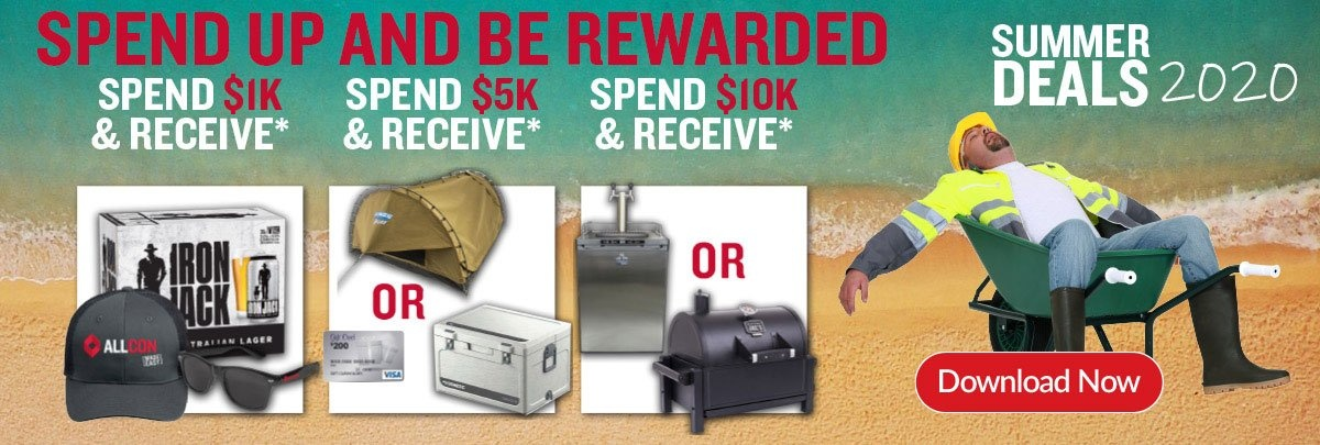 Spend up and be rewarded - Summer Deals 2020