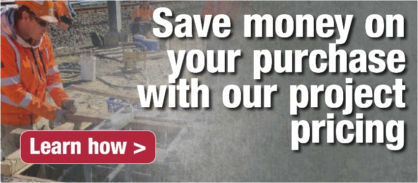 Save money on your purchase with our project pricing