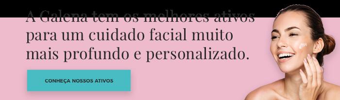 Ativos Galena para cuidado facial