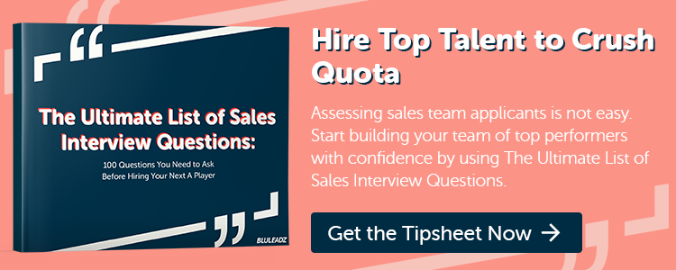 click here to download The Ultimate List of Sales Interview Questions