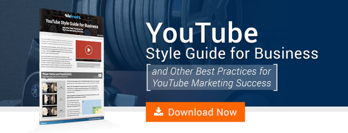 Download our YouTube style guide now!