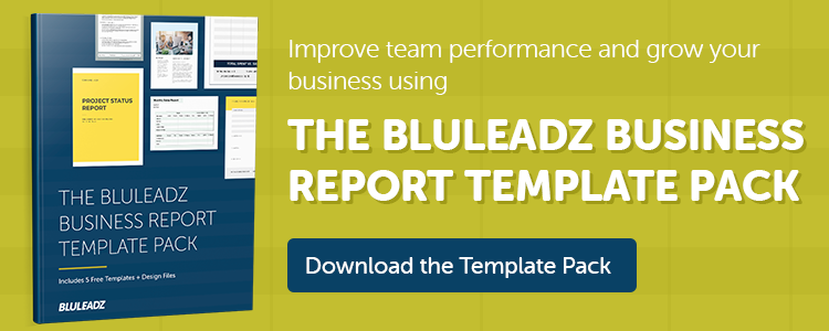 click here to download the business report template pack
