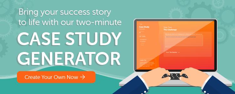 Case Study Generator CTA - blog