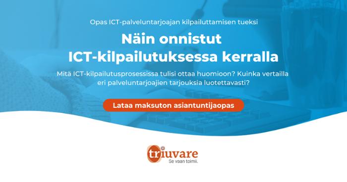 Lataa opas ICT-palveluntarjoajien vertailun tueksi