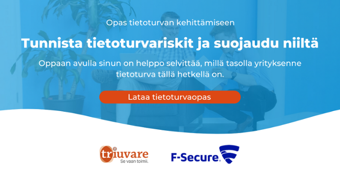 Lataa Triuvaren ja F-Securen kirjoittama tietoturvaopas