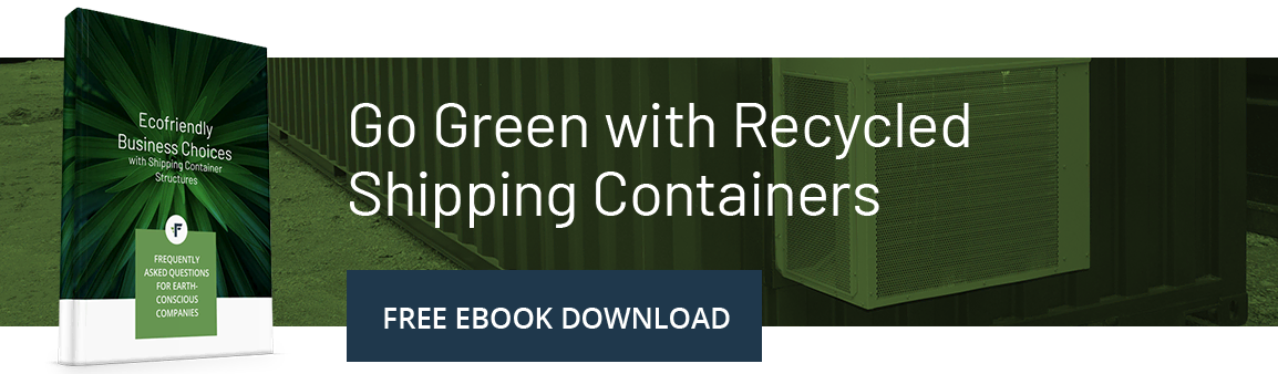 Go Green with Recycled Shipping Containers
