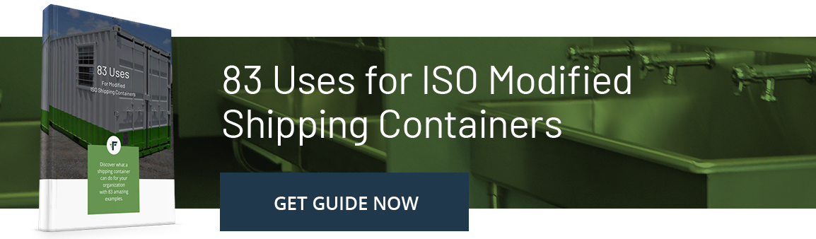 83 Uses for ISO Shipping Containers