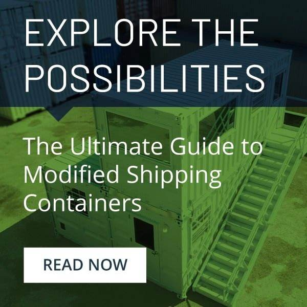 The ultimate guide to modified shipping containers