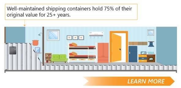 Click to learn fascinating facts about shipping containers.