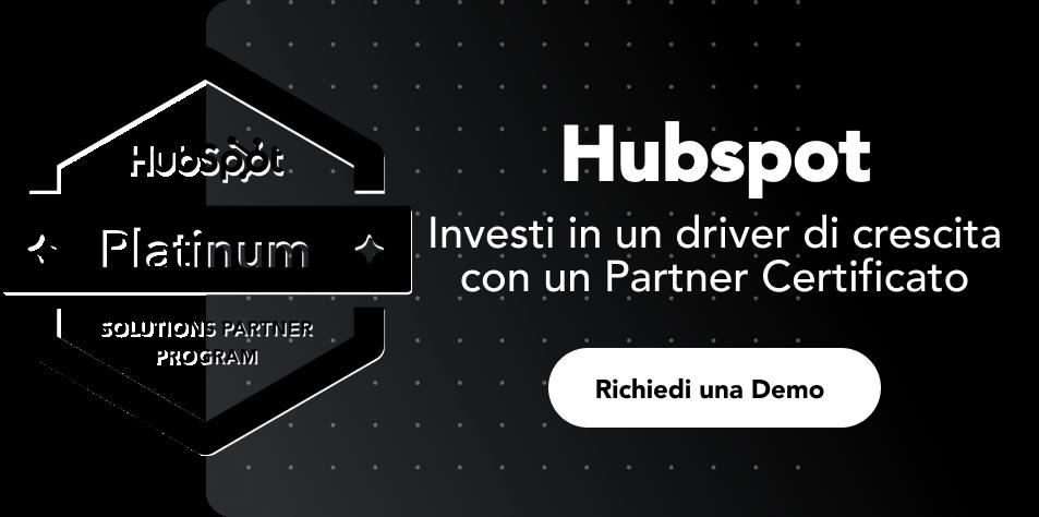 Prenota una demo gratuita del software Hubspot