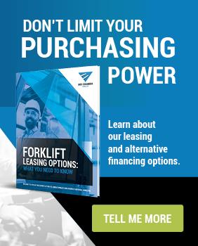 CTA Sidebar - Forklift Leasing Options