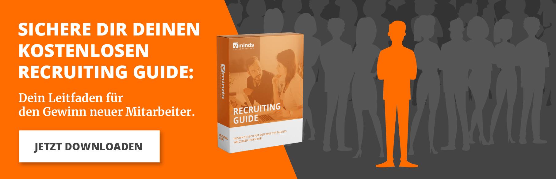Recruiting Guide anfordern