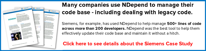 ndepend siemens case study button