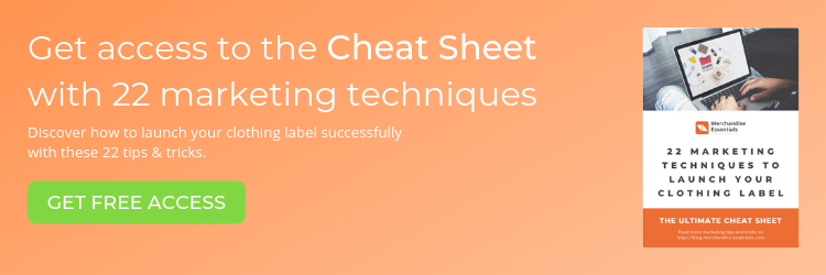 Get access to the cheat sheet with 22 marketing techniques