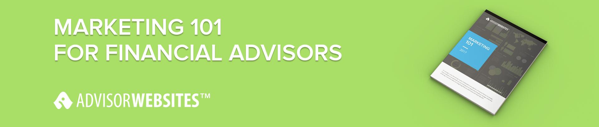 marketing basics for financial advisors