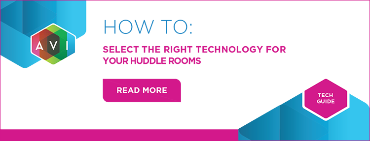 Learn how to select the right technology for your huddle rooms in this tech guide.
