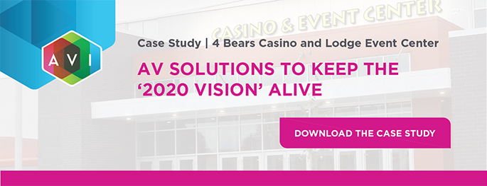 AV Solutions to Keep the 2020 Vision Alive, 4 Bears Case Study