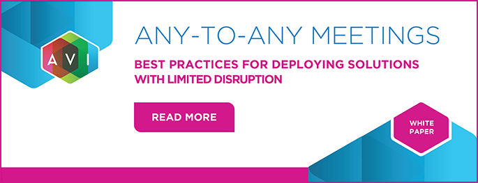 Any-to-Any Meetings: Best Practices for Deploying Solutions With Limited Disruption