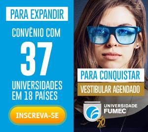Convênio com 37 Universidades em 18 países