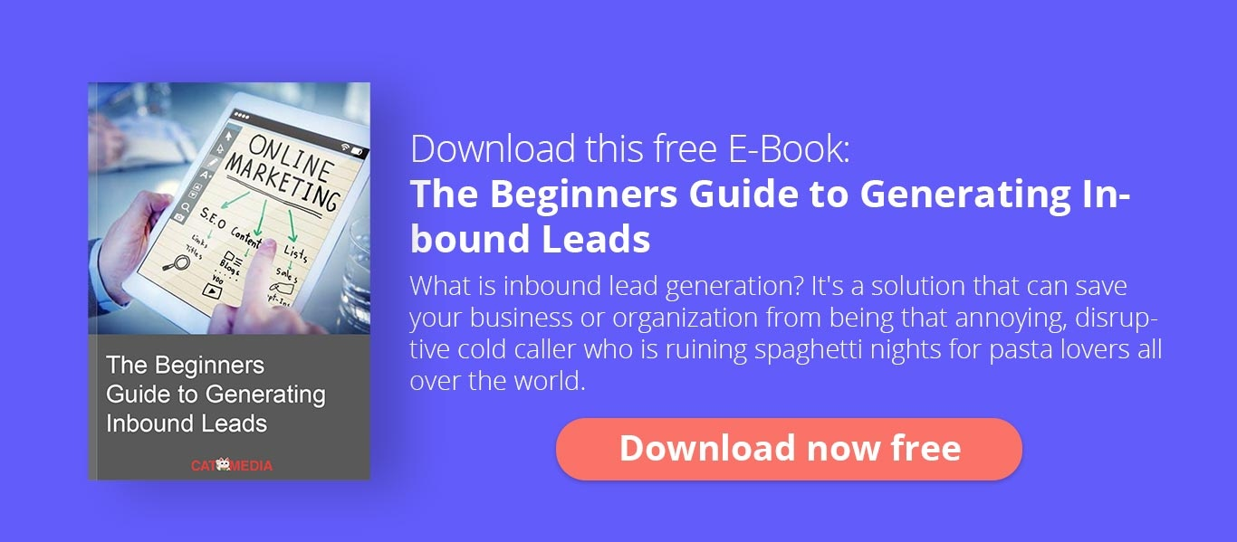 Donwload this Free E-Book The Beginners Guide to Generating Inbound Leads