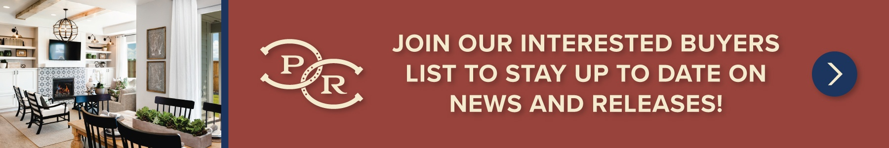 Join our interested buyers list to stay up to date on news and releases!