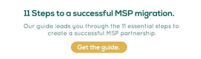Changing MSP