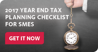 Year End Tax Planning Checklist for SMEs
