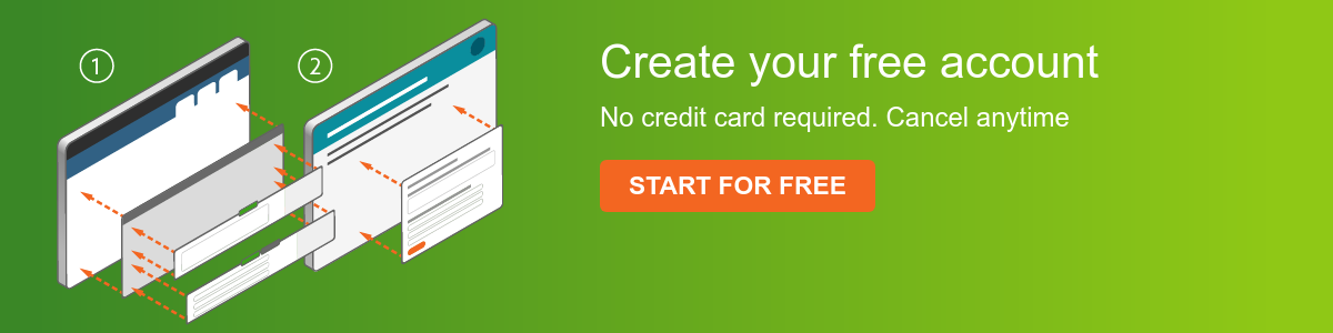 Create your free account  No credit card required. Cancel anytime Start for free