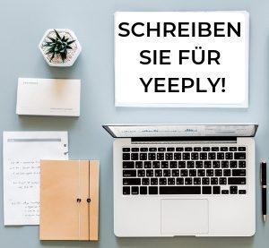 Schreiben sie für Yeeply!