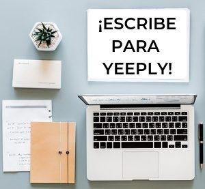 ¡Escribe para Yeeply!