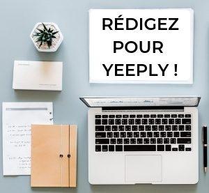 Rédigez pour Yeeply !