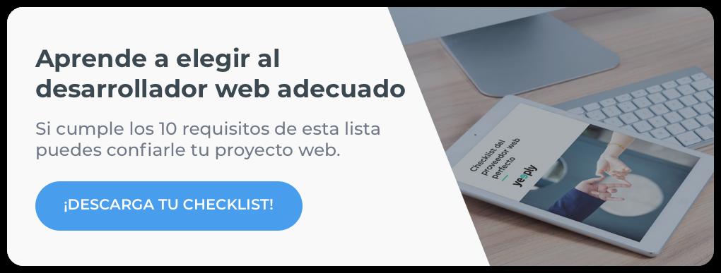 ¿Quieres crear un proyecto web? Descarga este ebook
