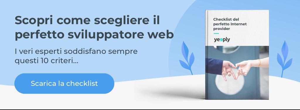 Vuoi creare un progetto web?