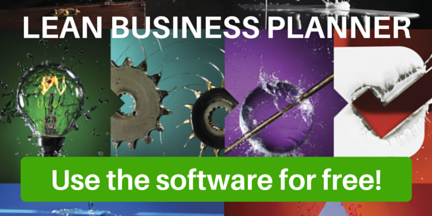 Use the software Lean Business Planner for free!