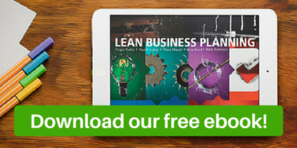 Download a free copy of the Lean Business Planning e-book