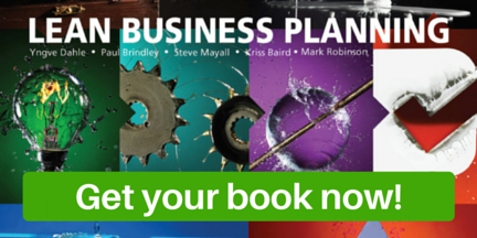 Get your hard copy of Lean Business Planning now