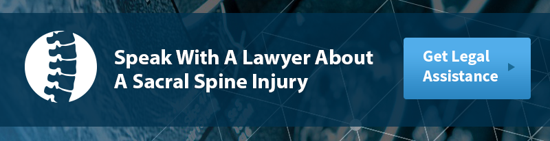 Sacral Spine Injury Legal Help