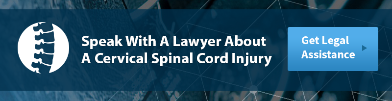 Cervical Spinal Cord Injury Legal Help