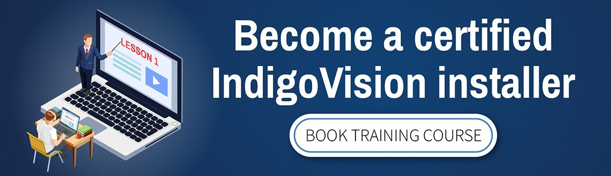 Book IndigoVision training course
