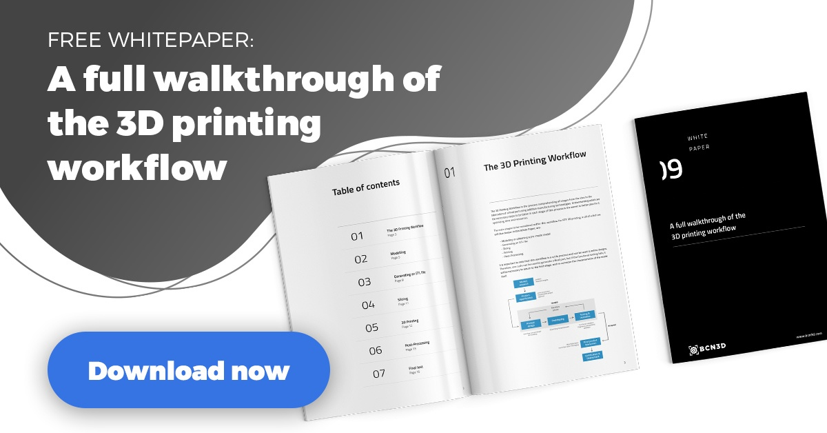Free whitepaper: the 3d printing workflow