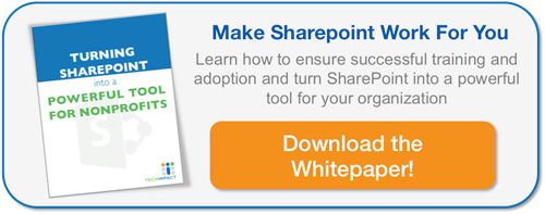 TURNING SHAREPOINT INTO A POWERFUL TOOL FOR NONPROFITS