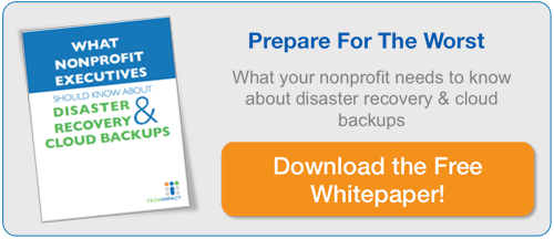 Download our whitepaper - What nonprofit executives should know about disaster recovery & cloud based backups