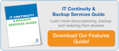 IT Continuity and Backup Services Guide Download