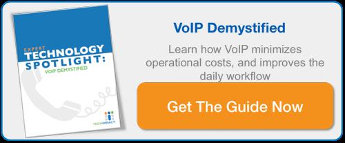 EXPERT TECHNOLOGY SPOTLIGHT: VOIP DEMYSTIFIED