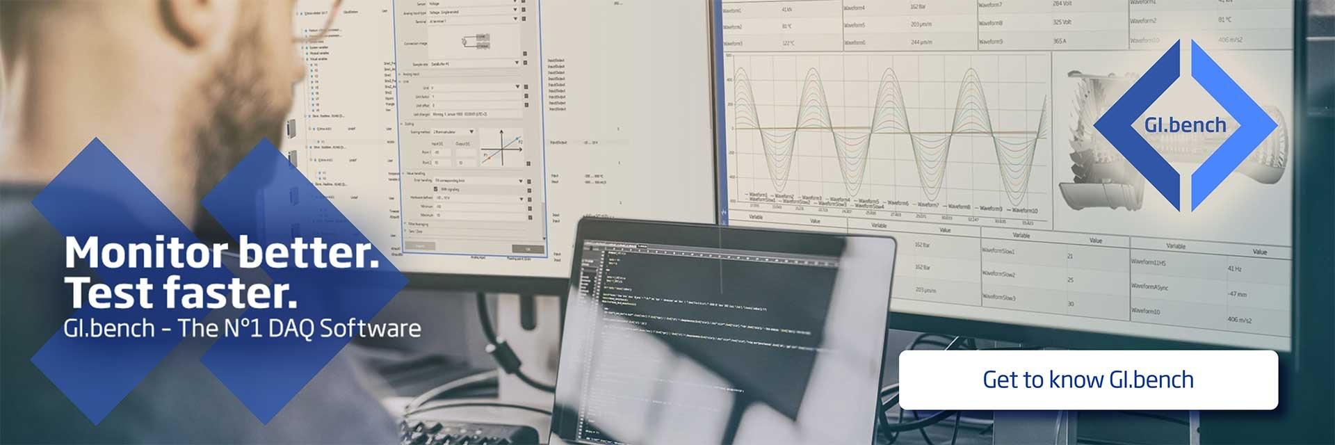 GI.bench - monitor better & test faster